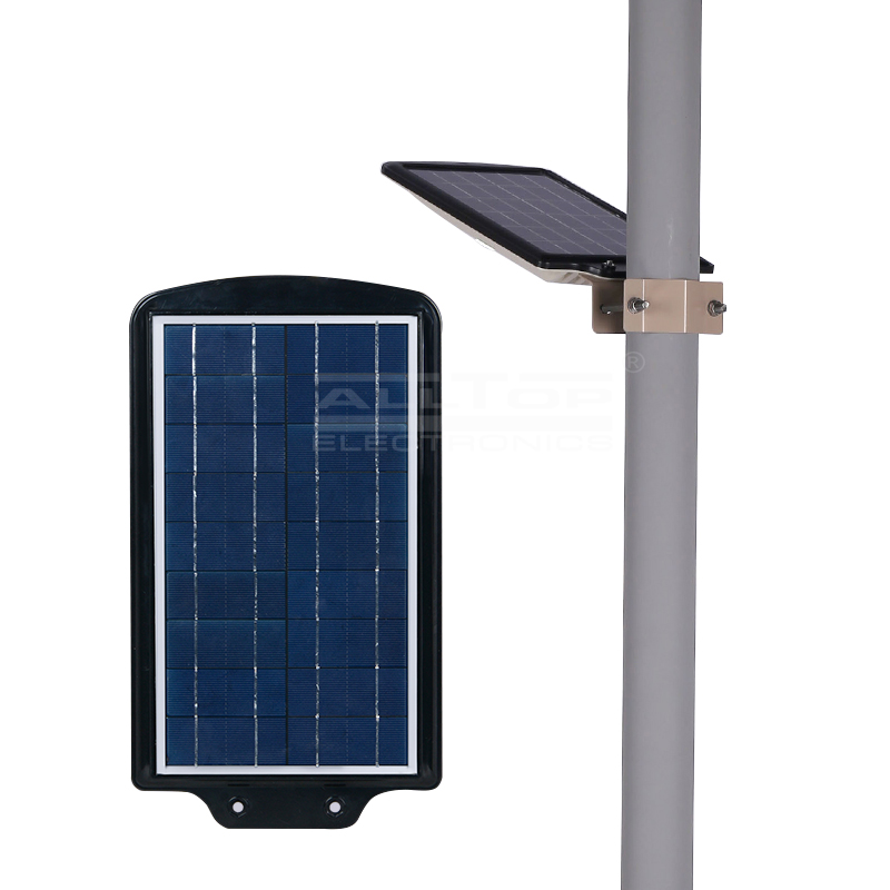 ALLTOP -Solar Powered Lights Motion Sensor All In One Solar Led Street Light