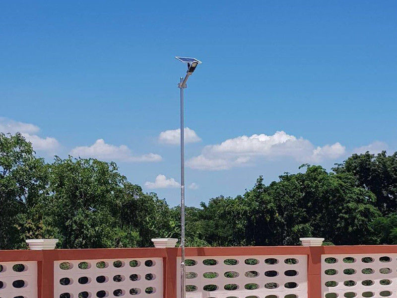 outdoor cob waterproof solar street light manufacturer ALLTOP manufacture