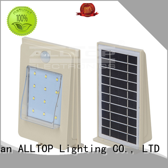 outdoor cob waterproof ALLTOP Brand solar street light manufacturer manufacture
