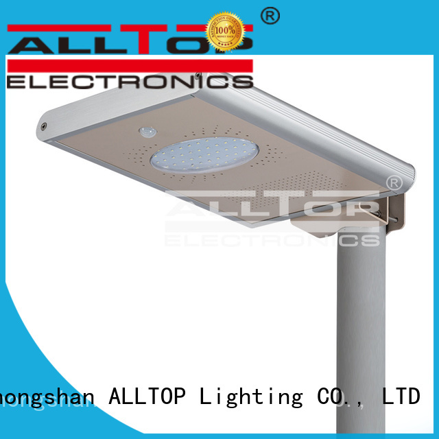 outdoor motion ALLTOP Brand solar street light