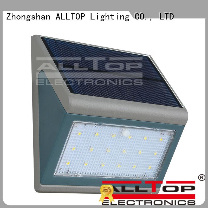 Custom quality solar wall lantern housing ALLTOP