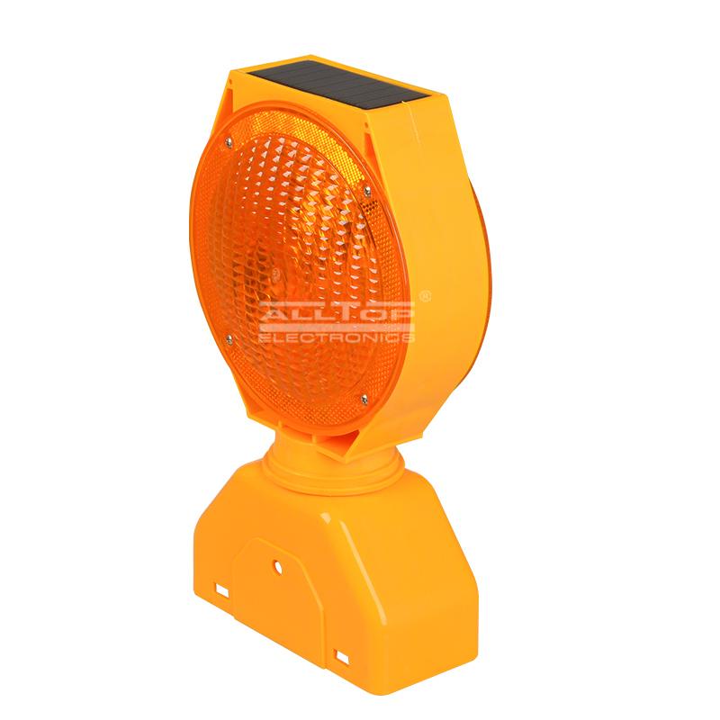 Portable 0.6W Double Sided Barricade signal Solar led Warning light