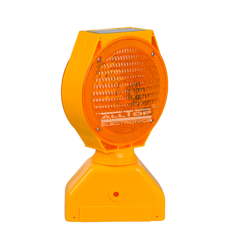 ALLTOP -Solar Traffic Light, Portable 06w Double Sided Barricade Signal Solar-1