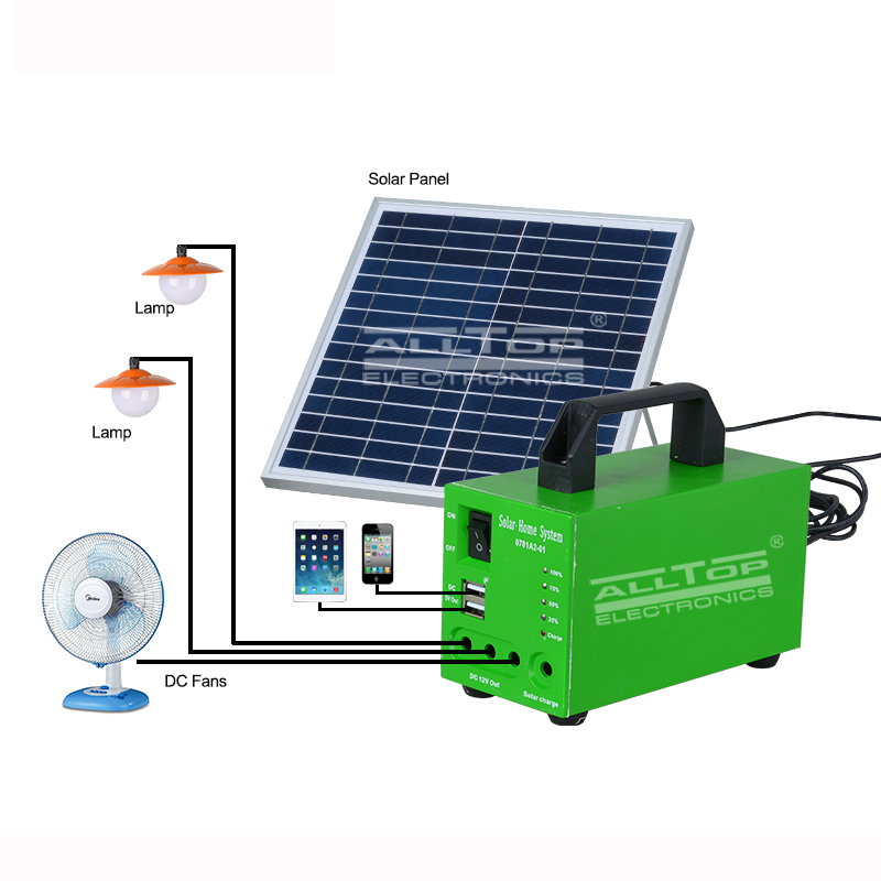 ALLTOP -solar dc lighting system ,solar panel lighting system | ALLTOP