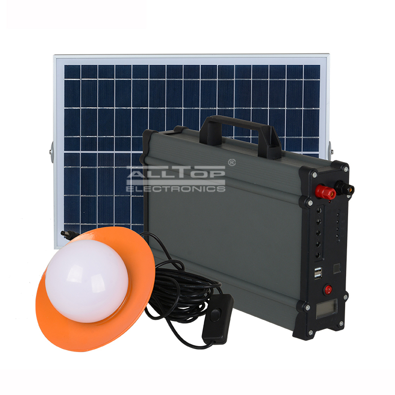 20W 30W 50W 100W Solar led battery backup system for indoor or outdoor