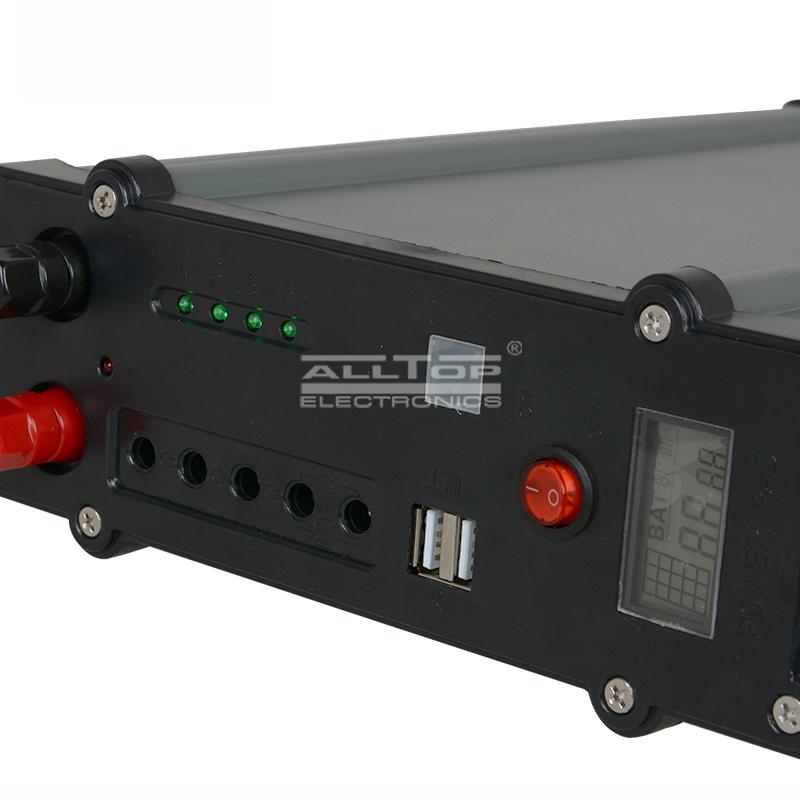 ALLTOP -Solar Dc Lighting System Manufacture | 20w 30w 50w 100w Solar Led Battery-1