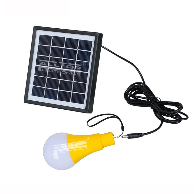 High quality outdoor camp portable Energy saving 5w solar led bulb light
