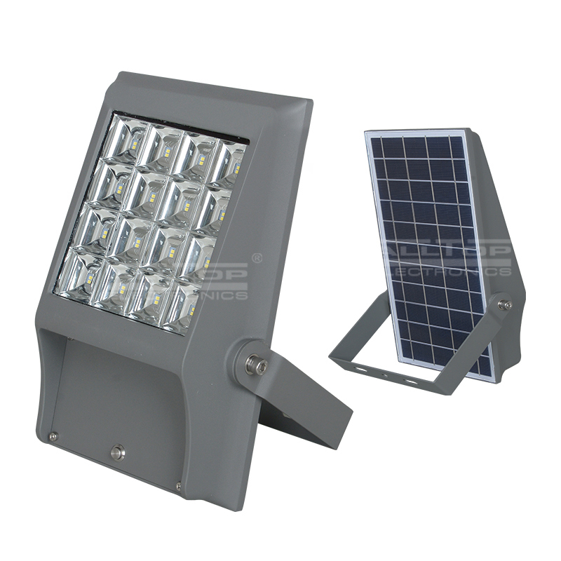 High quality Aluminum Alloy outdoor 8W 12W ODM/OEM Solar led flood light
