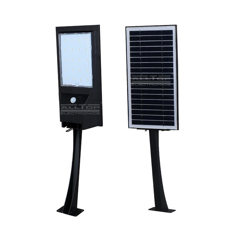 9w 14w outdoor garden IP65 waterproof solar led wall light housing