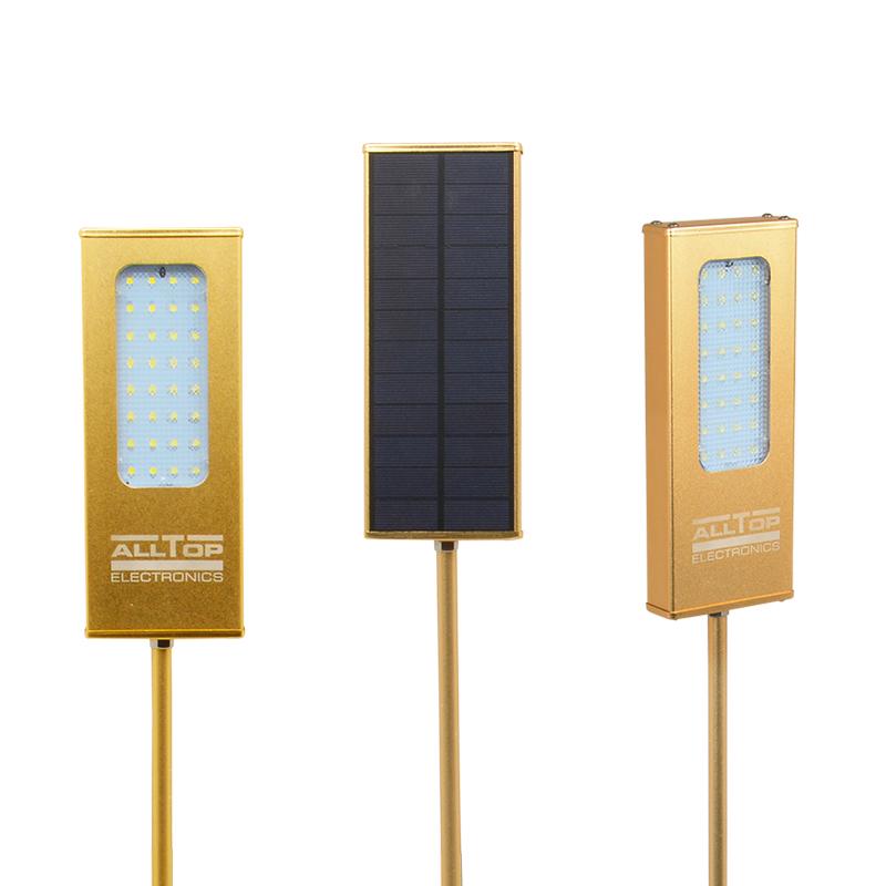 Modern garden outdoor IP65 waterproof solar led wall light 5w