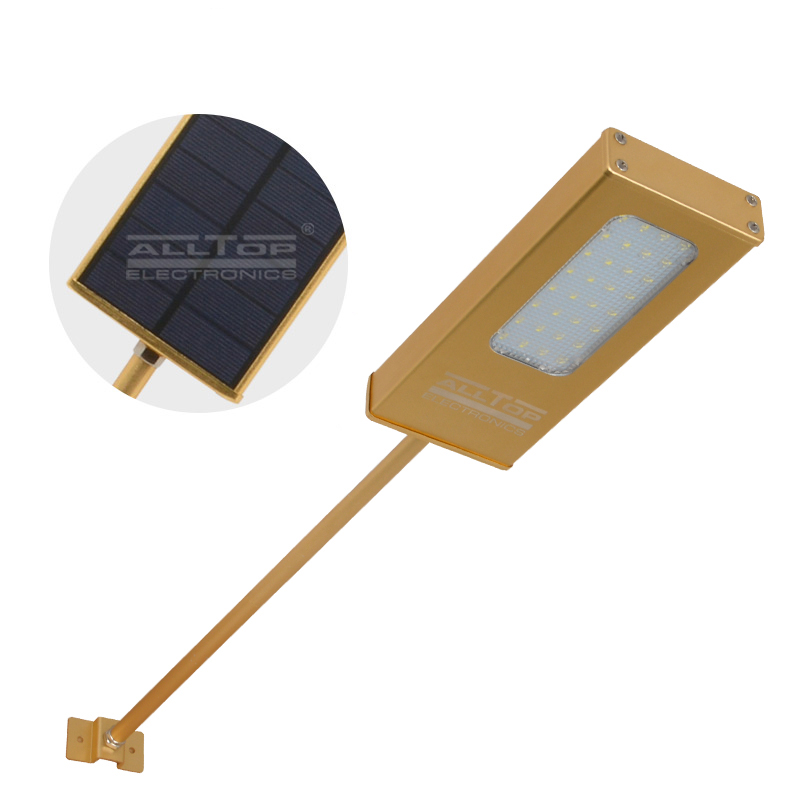 ALLTOP -Solar Wall Lights Modern Garden Outdoor Ip65 Waterproof Solar Led Wall-1