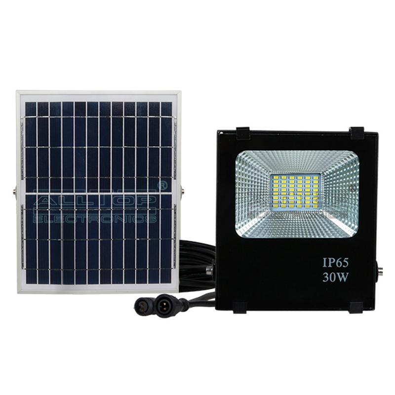 High power stadium lighting square ip65 outdoor waterproof 10w 20w 30w 50w 100w solar led flood light