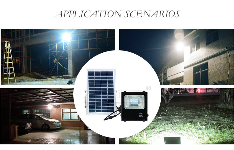 solar flood light kit big ip66 alloy ALLTOP Brand company