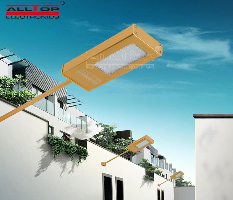 wall aluminum OEM solar wall lantern ALLTOP
