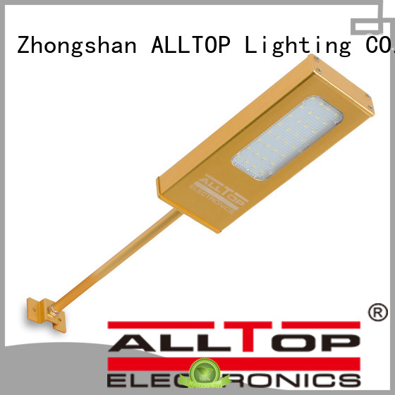 ALLTOP Brand garden lamp solar wall lamp outdoor bulb supplier