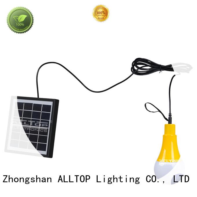steel bulb solar wall lantern energy ALLTOP Brand company