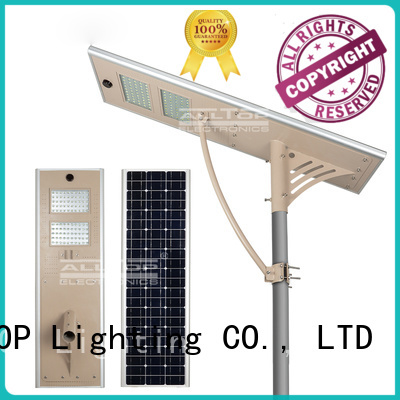 adjust outdoor lumen all in one solar street lights ALLTOP manufacture
