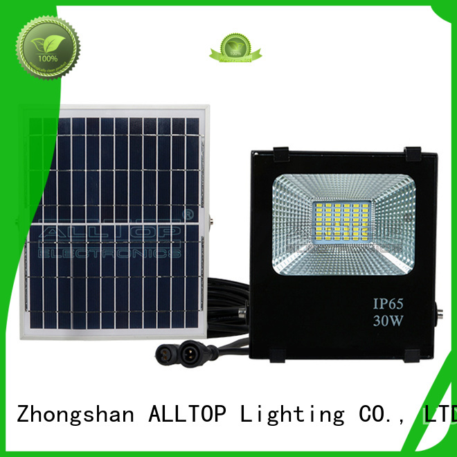 foldable portable solar ALLTOP Brand solar flood light kit factory