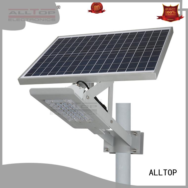 ALLTOP Brand lumens selling solar street light manufacturer cob supplier