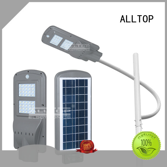 all in one solar street lights waterproof outdoor ALLTOP Brand company