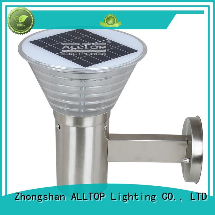 solar wall lamp outdoor quality solar wall lantern ALLTOP Brand