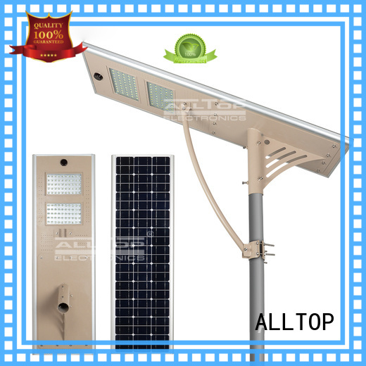 price waterproof all in one solar street lights ALLTOP manufacture