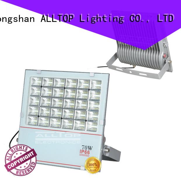 square Custom aluminum dc solar flood lights ALLTOP foldable