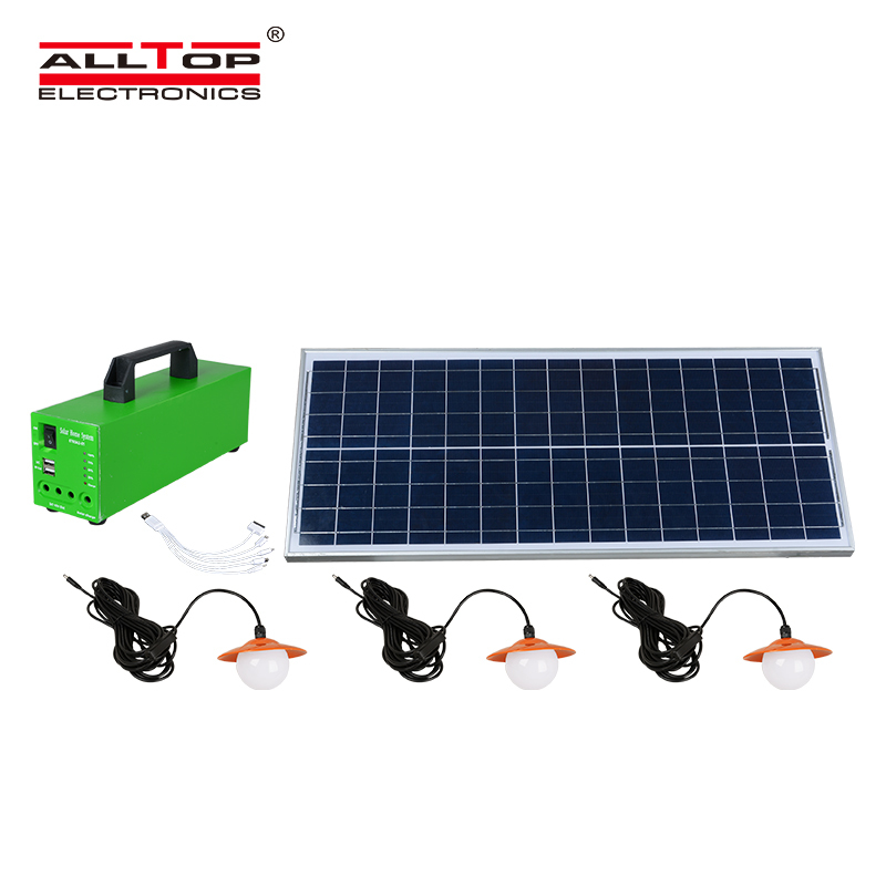 Potable outdoor/ indoor 20W 30W 50W Solar led battery backup system