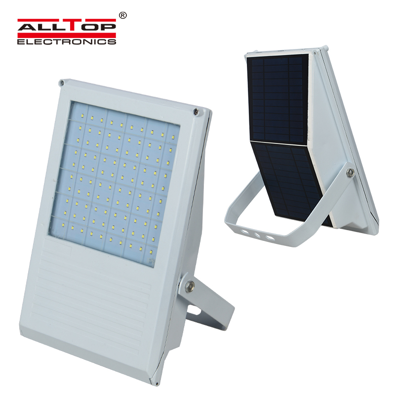 7w High lumen portable outdoor IP65 solar powered led flood light