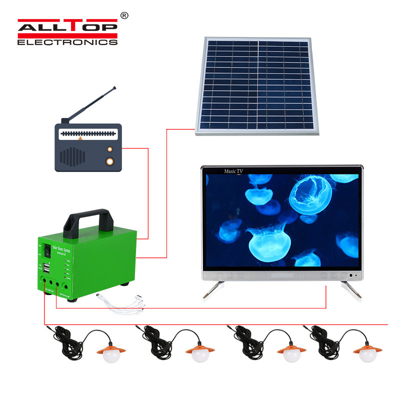 led lighting systems for home battery backup powered Warranty ALLTOP