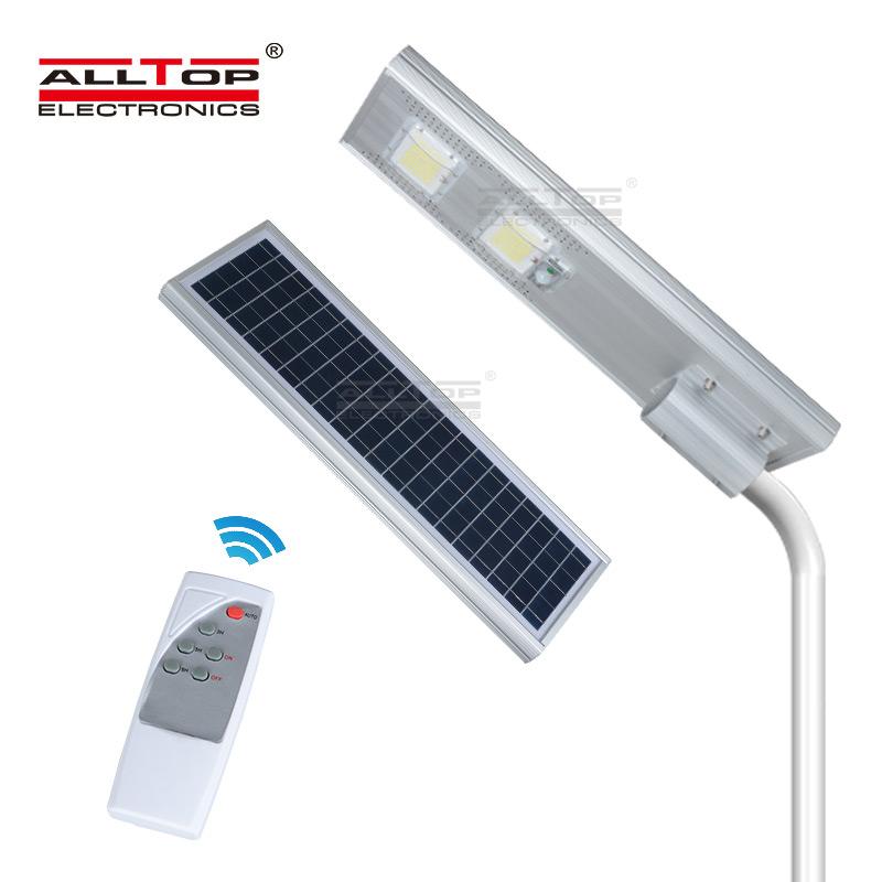 ALLTOP -Outside Solar Lights, Waterproof Outdoor Ip65 Motion Sensor Integrated
