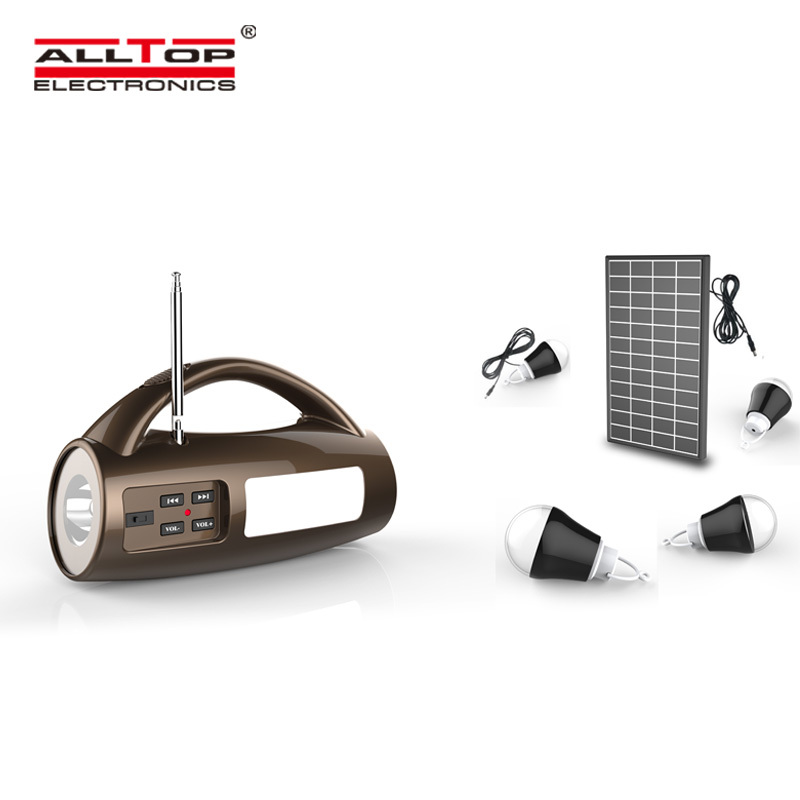 Energy saving ip65 portable camping ABS 8w multifunctional solar emergency light