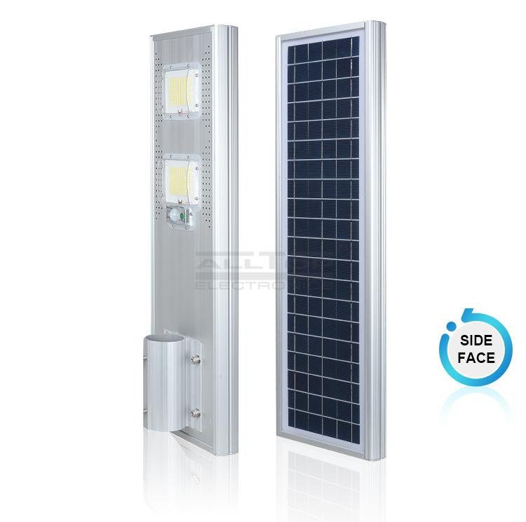 Hot garden solar street light quality lumen ALLTOP Brand