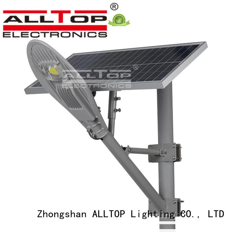 Quality ALLTOP Brand lighting solar street lamp
