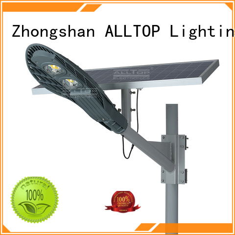 led solar street lamp light ALLTOP company