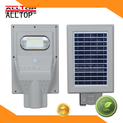 street motion solar street light led ALLTOP Brand company